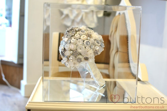 Wedding Bouquet Display Case