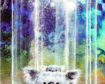 Koala Bear Print - Koala Bear Art -  Bear Print