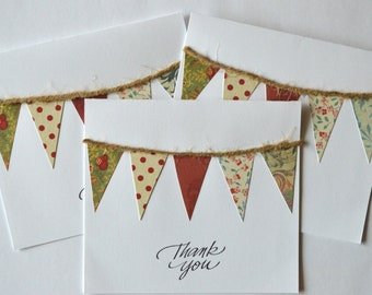 Thank You Banner Cards