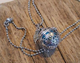 Angel Caller Pendant, musical ball, Mexican Bola, harmony ball chime, Guardian Angel, angel locket, Harmony Ball, angel chime locket