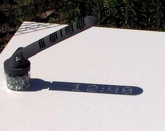 3D Printed Digital Sundial (Deluxe)