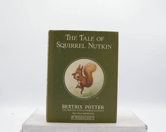 The Tale of Squirrel Nutkin by Beatrix Potter (Vintage, Nature)