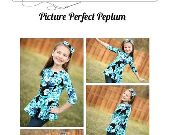 Picture Perfect Peplum 6m to 14 PDF
