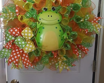 Mr. Frog Wreath
