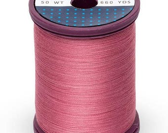 Romantic Rose Sulky Cotton + Steel Thread, 0119, Cotton Sewing Thread 660 Yds