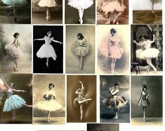 25 RESTORED VINTAGE IMAGES Ballet Download
