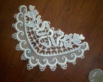 1920s antique venise lace applique