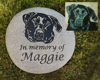 Custom portrait pet memorial