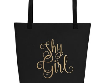 Shy Girl – Beach Bag – Personality large tote accessories