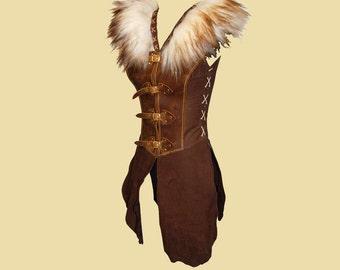 Surcoat with Fur Collar