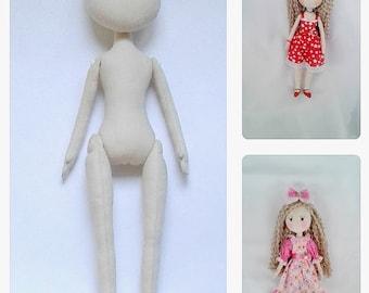 Blank Doll Body 14'' Doll body