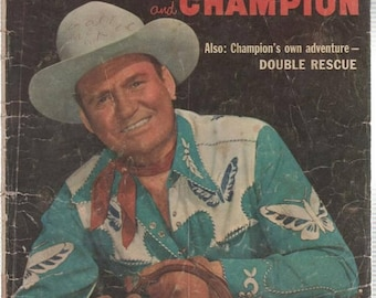BTS Gene Autry and Champion Comic Book Vol One No 109 May June 1956
