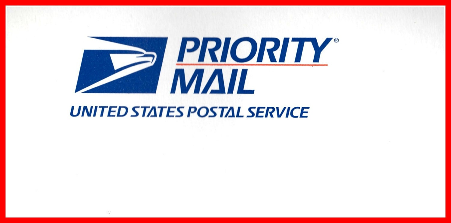 usps priority mail service rh etsy com  priority mail express logo