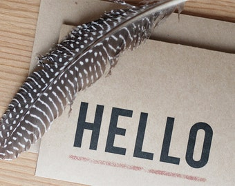 Hello Cards Set of 10
