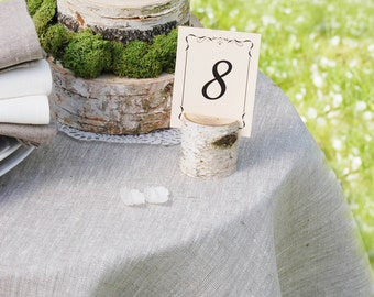 Place Card Holders - Rustic Wedding Decor - Rustic Name Card Holders - Birch Branch Table Number Holders - Woodland Wedding Decoration