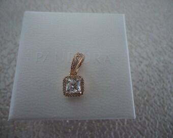 Authentic Pandora Timeless Elegance CZ Rose Gold 380378CZ
