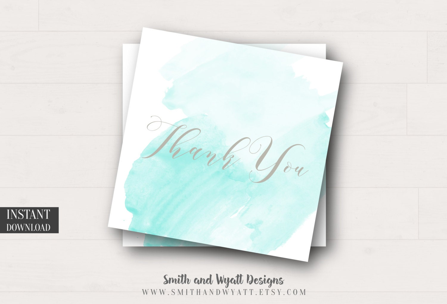 Printable Thank You Tags - Favor Tags - Baby Shower Tags - Wedding ...