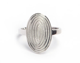 925 sterling silver ring made by hand