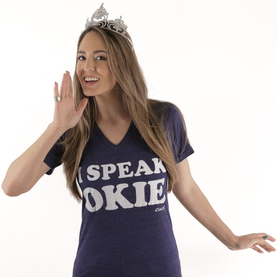 I Speak Okie V-Neck T-shirt by Steve Cluck - Made with Love in Tulsa, Oklahoma - 20% off with the coupon code MIMOSA