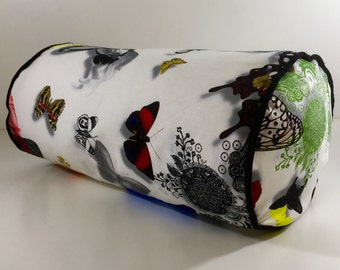 Designers Guild Christian Lacroix, Bolster Cushion Cover 'Butterfly Parade' 17x8""