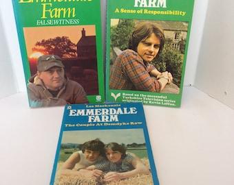 Three Vintage Emmerdale Novels - Paperbacks