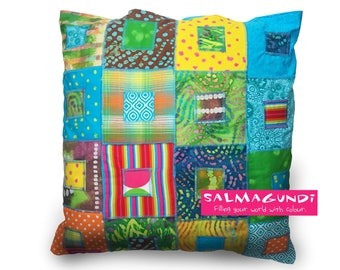 Carnival - Hand-made cushion