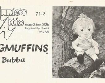 "Vintage Annie's Attic ""Ragmuffins Bubba"" Doll Pattern"