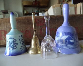 Vintage Collection of 4 Bells