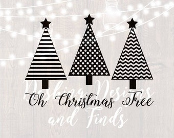DIGITAL DOWNLOAD oh christmas tree svg - christmas svg - merry christmas svg - christmas carol svg - silhouette - cricut - cut files