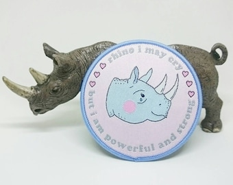 Rhino I May Cry Patch