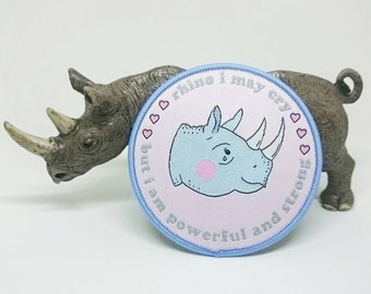 Rhino I May Cry Patch