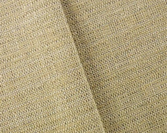 Ivory Textured Chenille Upholstery Fabric, Fabric By The Yard