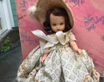 Vintage Nancy Ann Storybook Doll 1940s-50s