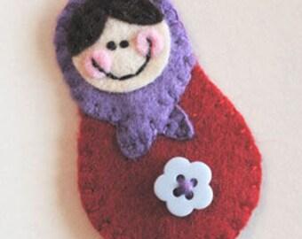 Matryoshka Doll Clip