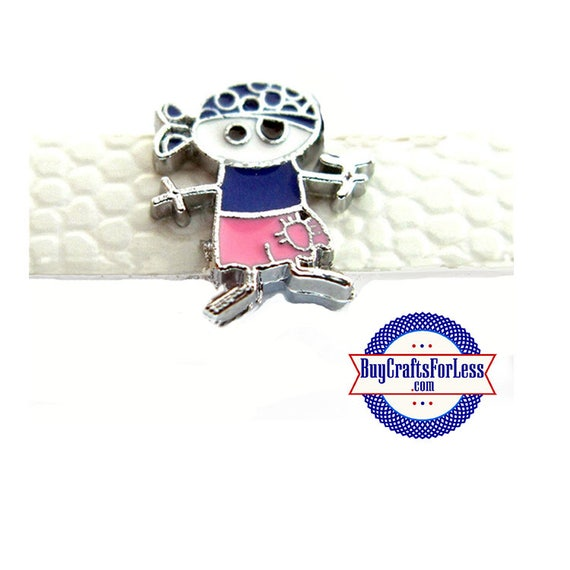 PIRATE, Super CUTE Slider for 8mm Bracelets, Collars, Key Rings. Napkin Rings +FREE Shipping & Discounts*