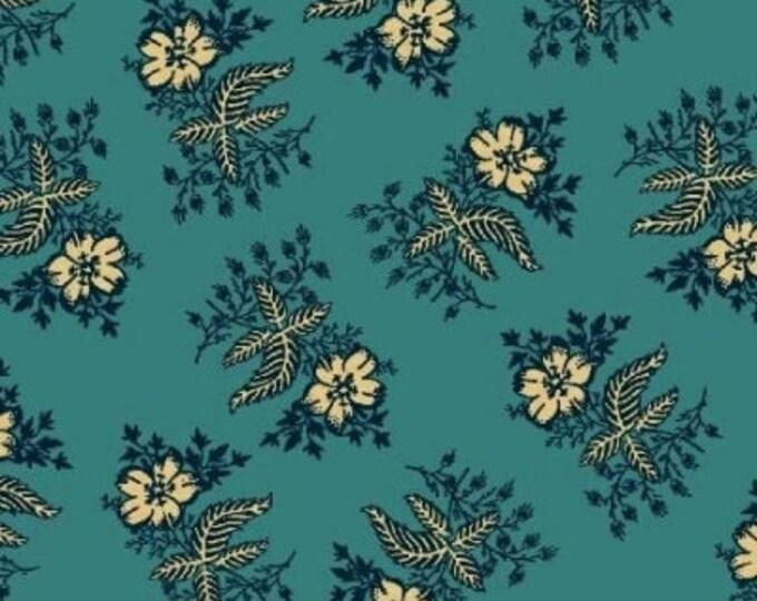 Enduring Legacy - Blue Floral on Teal