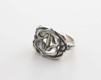 Ring double stitched