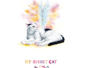 My Secret Cat 2018 Desktop Calendar