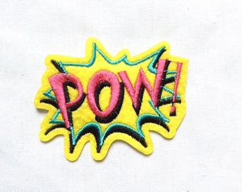 New POW Iron-On Appliqué Patch Motif DIY