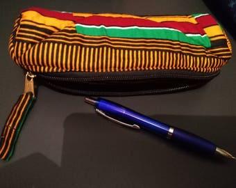 T020 - Round Kit school wax (pencil box) canvas