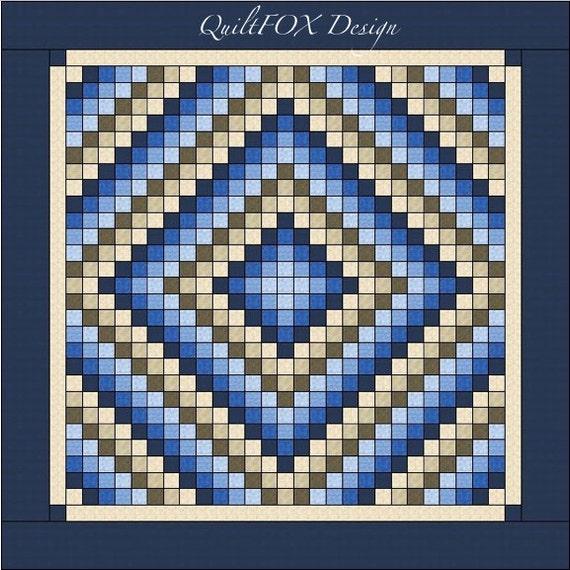 Trip Around The World Quilt Pattern King Size 105 X