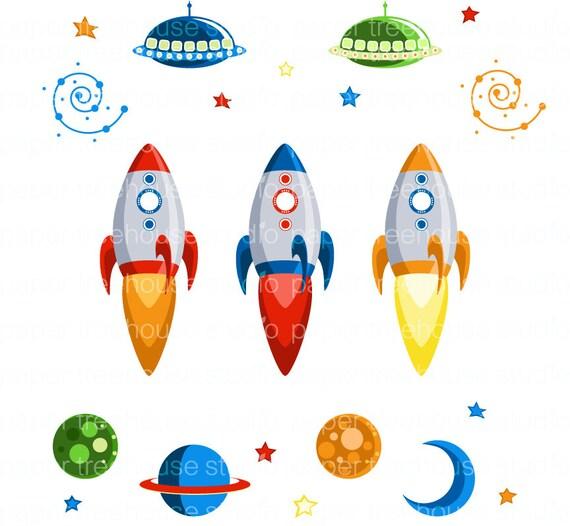outer space clip art rocketship clip art outerspace rh etsy com outer space clipart png outer space clipart for kids