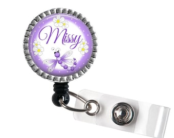 Personalized NAME Badge Reel