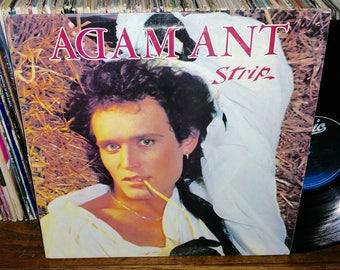 Adam Ant Strip Vintage Vinyl Record