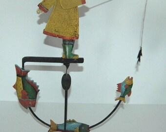 Authentic Models Fisherman Balance Toy TM047