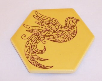 Handmade Ceramic Tile Wall hanging