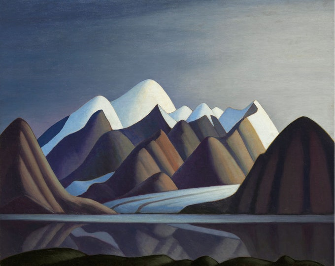 Featured listing image: Lake Harbour Baffin Island by Lawren Harris Home Decor Wall Decor Giclee Art Print Poster A4 A3 A2 Large Print FLAT RATE SHIPPING