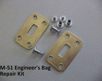 M-51 Engineers Field Bag Clasp Repair