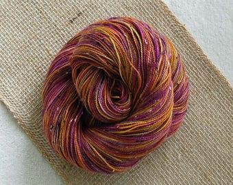 Bits and Bobs Tweed yarn - Fallen (superwash sock weight) 438 yards 100 grams