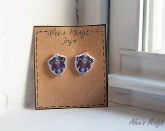 Legend of Zelda Hylian Shield Earrings